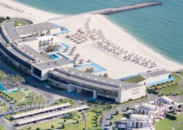 The Hilton Saalmia complex in Kuwait