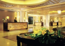 The Shangri - La Hotel in Beijing